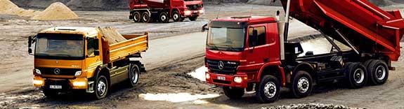 Перевозка больших объёмов сыпучих строительных и промышленных грузов