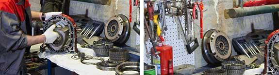 Ремонт и замена узлов и агрегатов